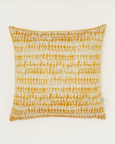 Michael Mortell Ochre Cushion