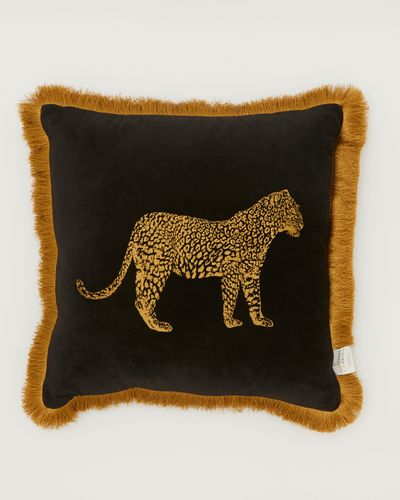 Michael Mortell Leopard Cushion