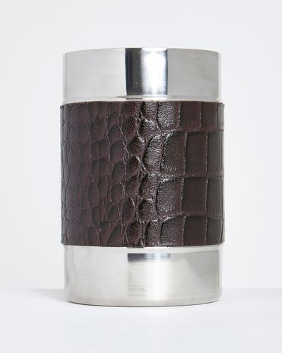 Michael Mortell Leather Wine Cooler