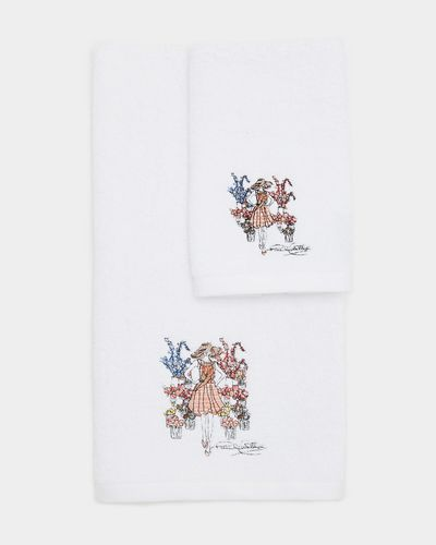 Paul Costelloe Living Embroidered Guest Towel