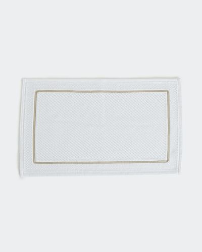 Paul Costelloe Living Contrast Bath Mat
