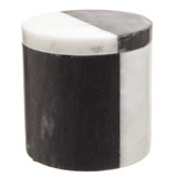 grey Paul Costelloe Living Marble Canister