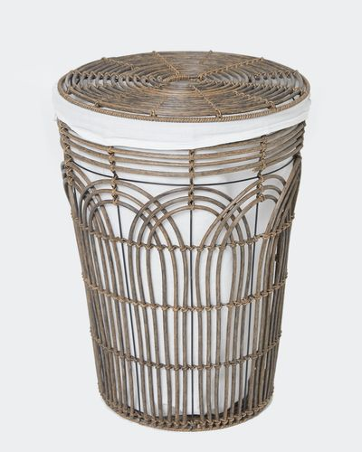 Paul Costelloe Living Rattan Laundry Basket
