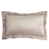 mink Paul Costelloe Living Velvet Boudoir Cushion