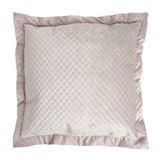 mink Paul Costelloe Living Velvet Euro Cushion