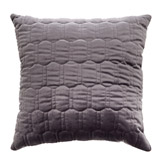 charcoal Paul Costelloe Living Quilted Square Cushion