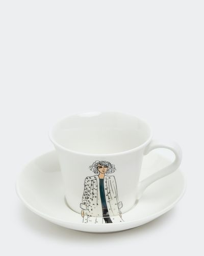 Paul Costelloe Living Lady Teacup And Saucer thumbnail