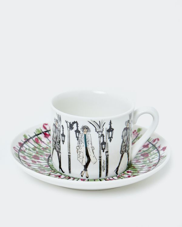Paul Costelloe Living Round Lady Teacup