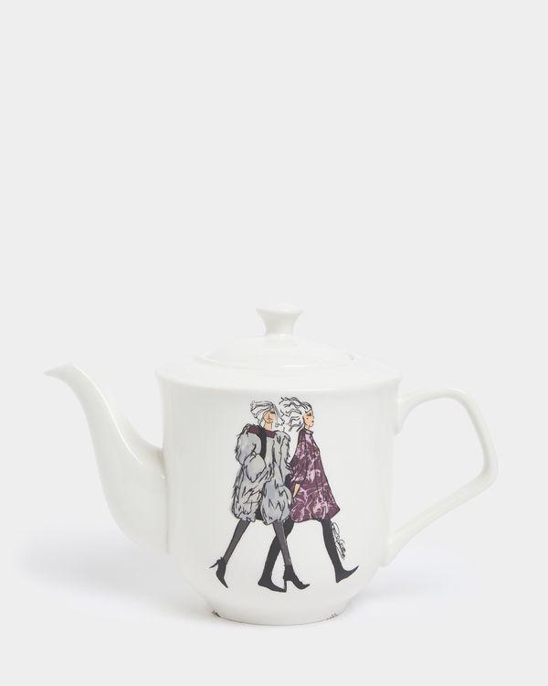 Paul Costelloe Living Lady Teapot