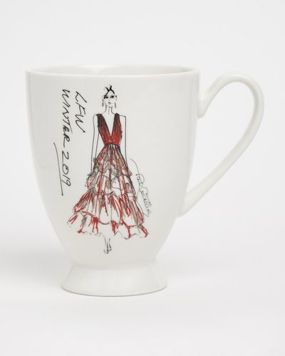 Paul Costelloe Living Fashion Week Footed Mug