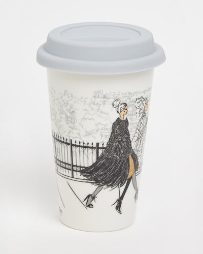 Paul Costelloe Living Lady Travel Mug
