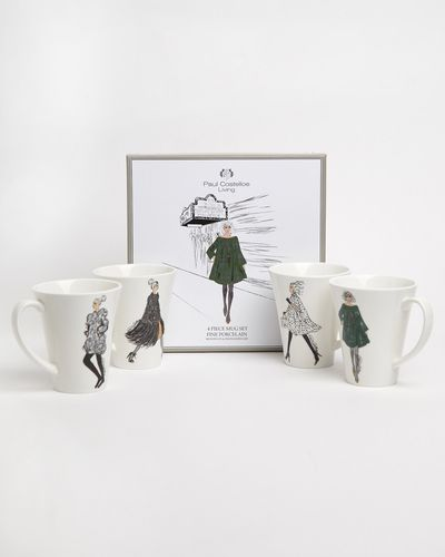 Paul Costelloe Living Lady Mug Gift Box - Set Of 4