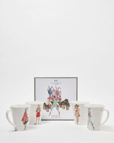 Paul Costelloe Living Lady Mug Gift Box - Set Of 4 thumbnail