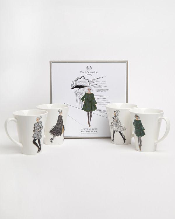 Paul Costelloe Living Lady Mug Gift Box - Set Of 4