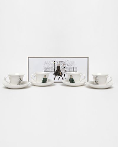 Paul Costelloe Living Lady Teacup And Saucer Set
