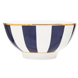 navy Paul Costelloe Living Madison Cereal Bowl