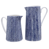 blue Paul Costelloe Living Stripe Jug