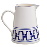 blue Paul Costelloe Living Azur Jug