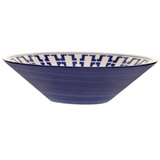 blue Paul Costelloe Living Azur Salad Bowl