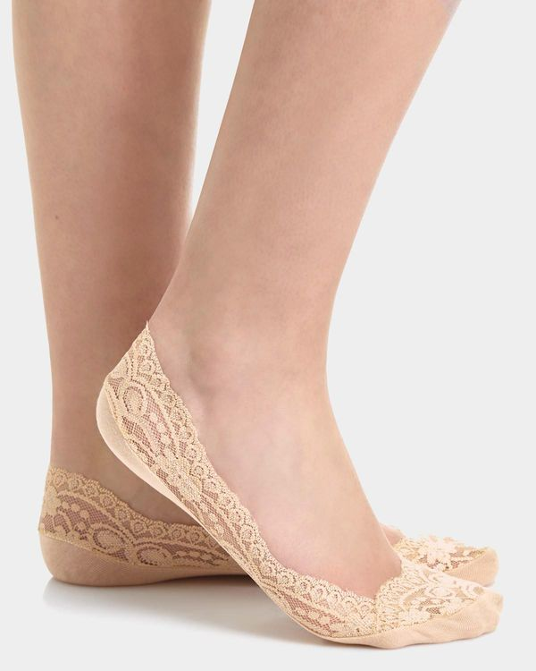 Lace Footie - Pack Of 3
