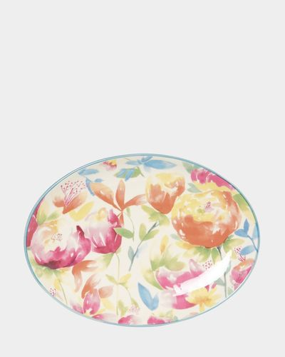 Paul Costelloe Living Floral Oval Platter