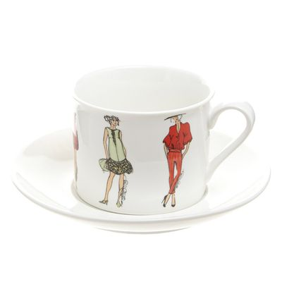 Paul Costelloe Living Round Lady Teacup thumbnail