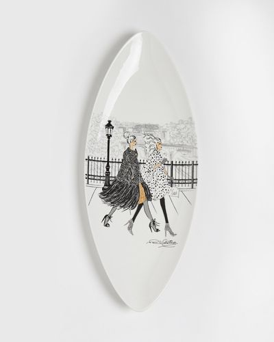 Paul Costelloe Living Lady Serving Plate