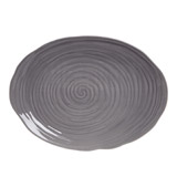 grey Paul Costelloe Living Camille Platter