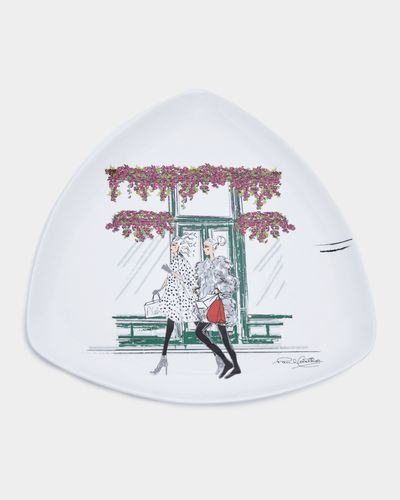 Paul Costelloe Living Triangular Lady Plate thumbnail