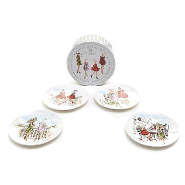 Paul Costelloe Living Lady Side Plate Set