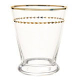 clear Paul Costelloe Living Versailles Tumbler