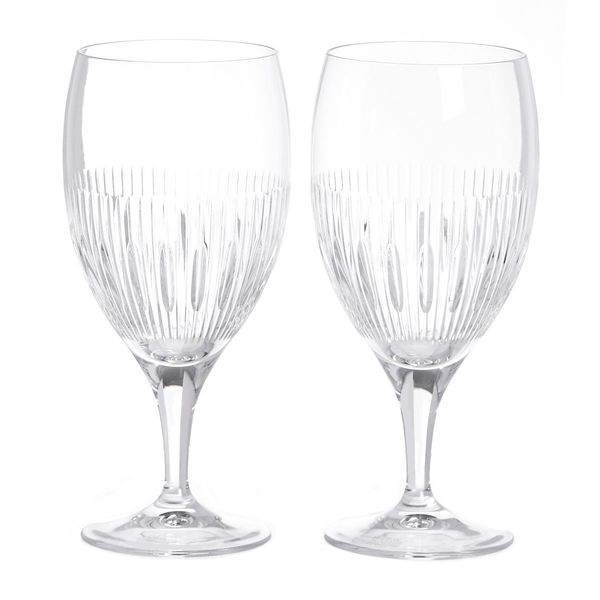 Paul Costelloe Living Crystal Goblet - Set Of 2