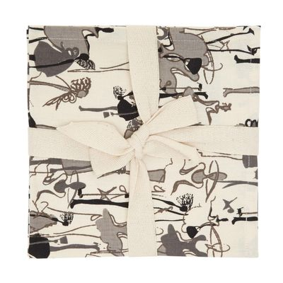Paul Costelloe Living Lady Napkins - Pack Of 4 thumbnail