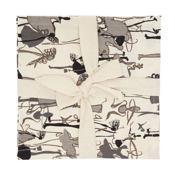 Paul Costelloe Living Lady Napkins - Pack Of 4