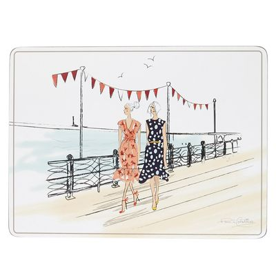 Paul Costelloe Living Lady Placemats - Set Of 4