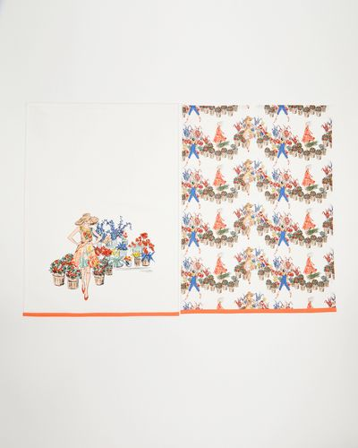 Paul Costelloe Living Lady Tea Towels - Pack Of 2