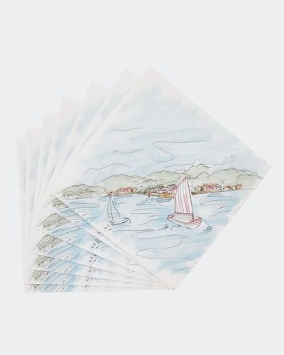 Paul Costelloe Living Boats Napkins - Pack Of 20