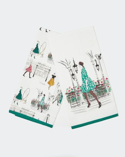 Paul Costelloe Living Lady Tea Towel - Pack Of 2 thumbnail