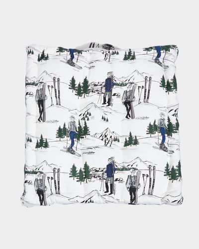 Paul Costelloe Living Ski Lady Seat Pad