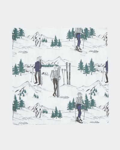 Paul Costelloe Living Ski Lady Napkin - Pack Of 20 thumbnail