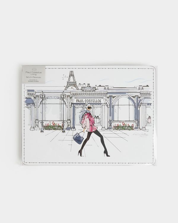 Paul Costelloe Living Lady Placemat - Pack Of 4
