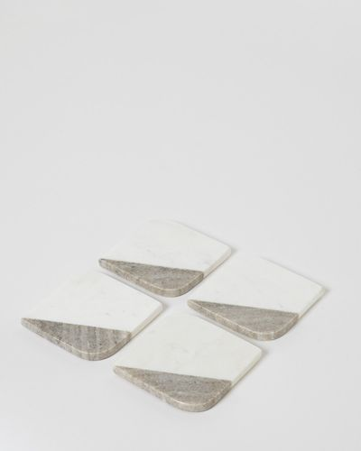 Paul Costelloe Living Marble Coasters - Pack Of 4 thumbnail
