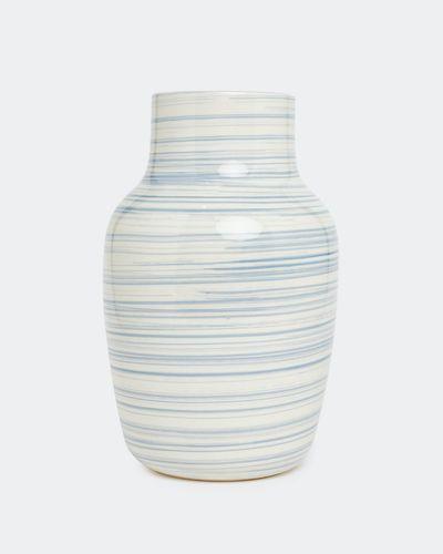 Paul Costelloe Living Bali Stripe Vase