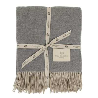 Paul Costelloe Living Cashmere Throw thumbnail