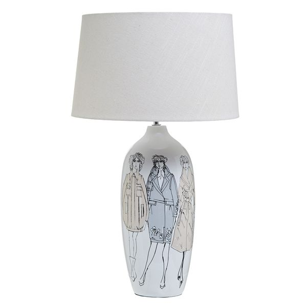 Paul Costelloe Living Lady Lamp