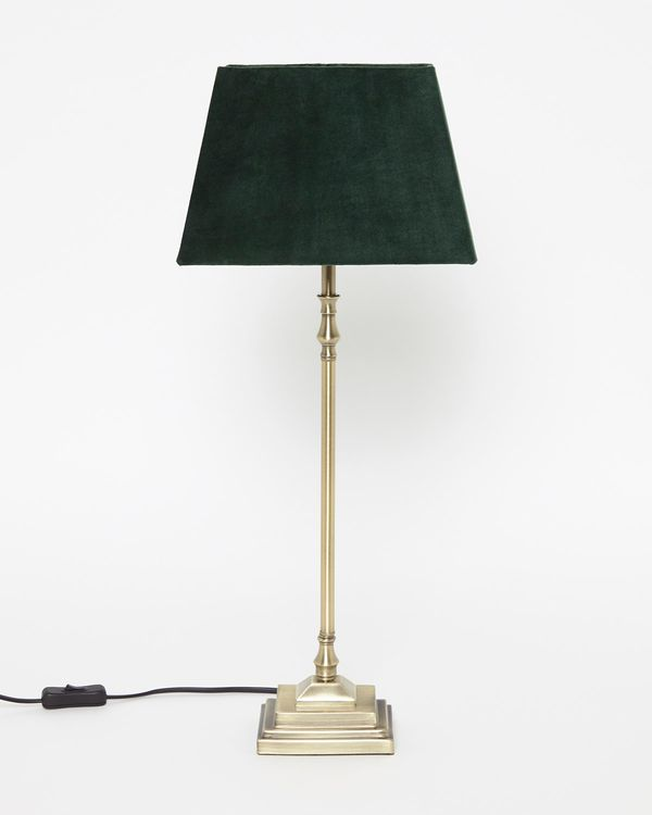 Paul Costelloe Living Velvet Lamp