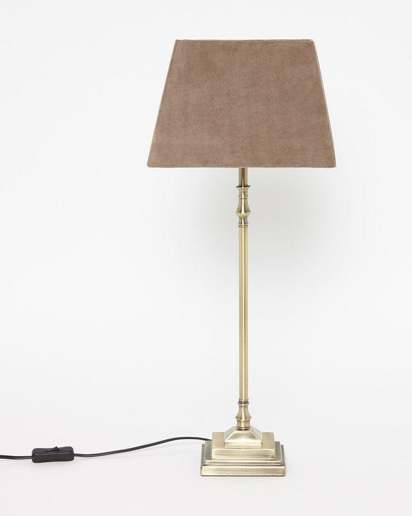 Paul Costelloe Living Velvet Lamp