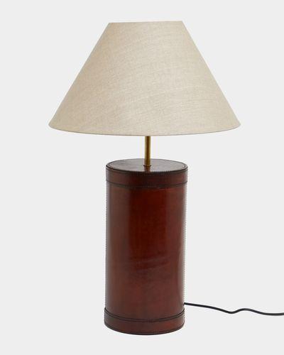 Paul Costelloe Living Leather Lamp