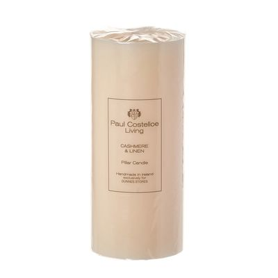 Paul Costelloe Living Scented Pillar Candle - 8x3in thumbnail