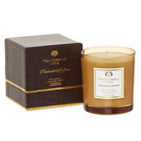 brown Paul Costelloe Living Mock Croc Candle
